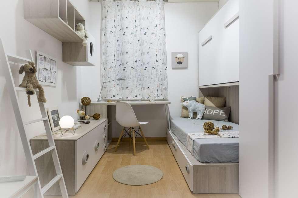 Fotos de decoraci n y dise o de interiores homify for Dormitorio infantil nordico