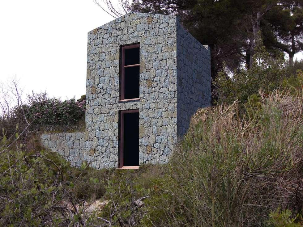Ristrutturazione rustico esistente: Case in stile in stile Mediterraneo di Fabrizio Alborno Studio di Architettura ALBORNO\GRILZ
