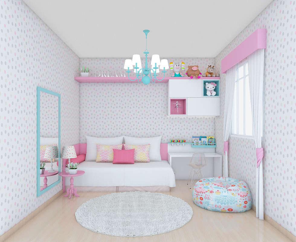 Fotos De Decora O Design De Interiores E Reformas Homify ~ Quarto Planejado Infantil Feminino