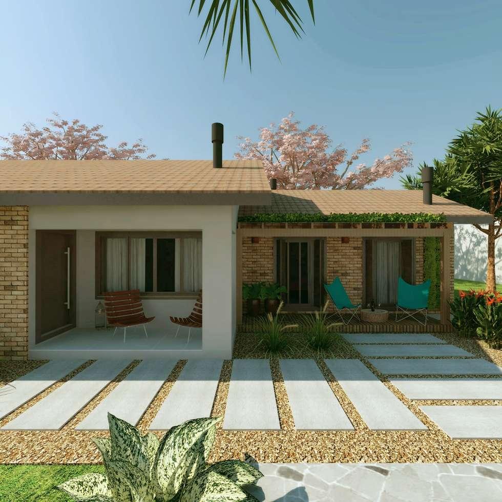 Fotos de decora o design de interiores e reformas homify for Casas de campo rusticas pequenas