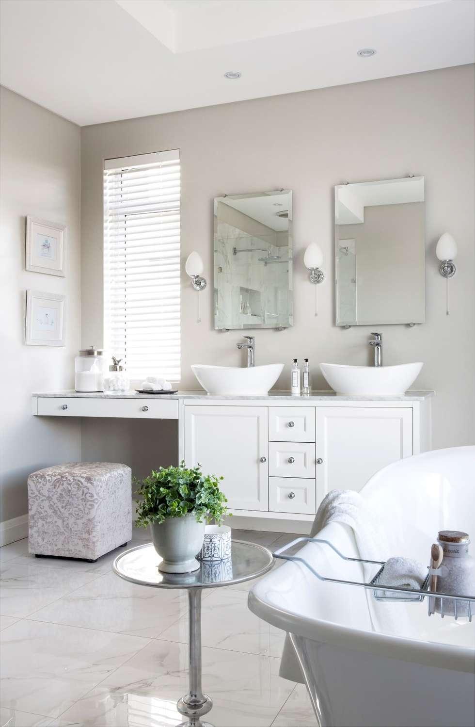 Photos de salle de bain de style de style classique par salomé ...