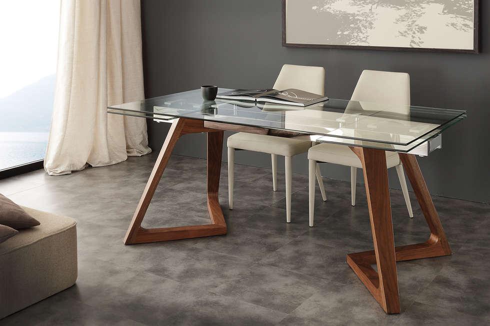 Idee arredamento casa interior design homify - Tavolo cristallo allungabile ...