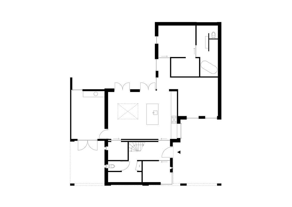 moderne Arbeitszimmer von Jan Couwenberg Architectuur