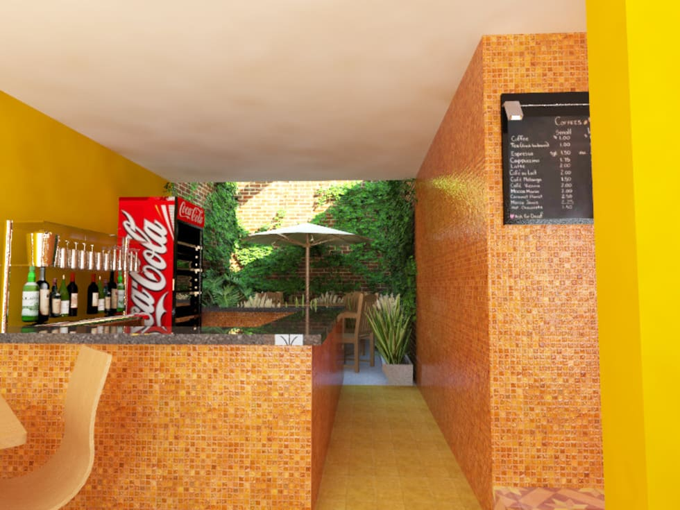 Barra bar: Restaurantes de estilo  por Arqternativa