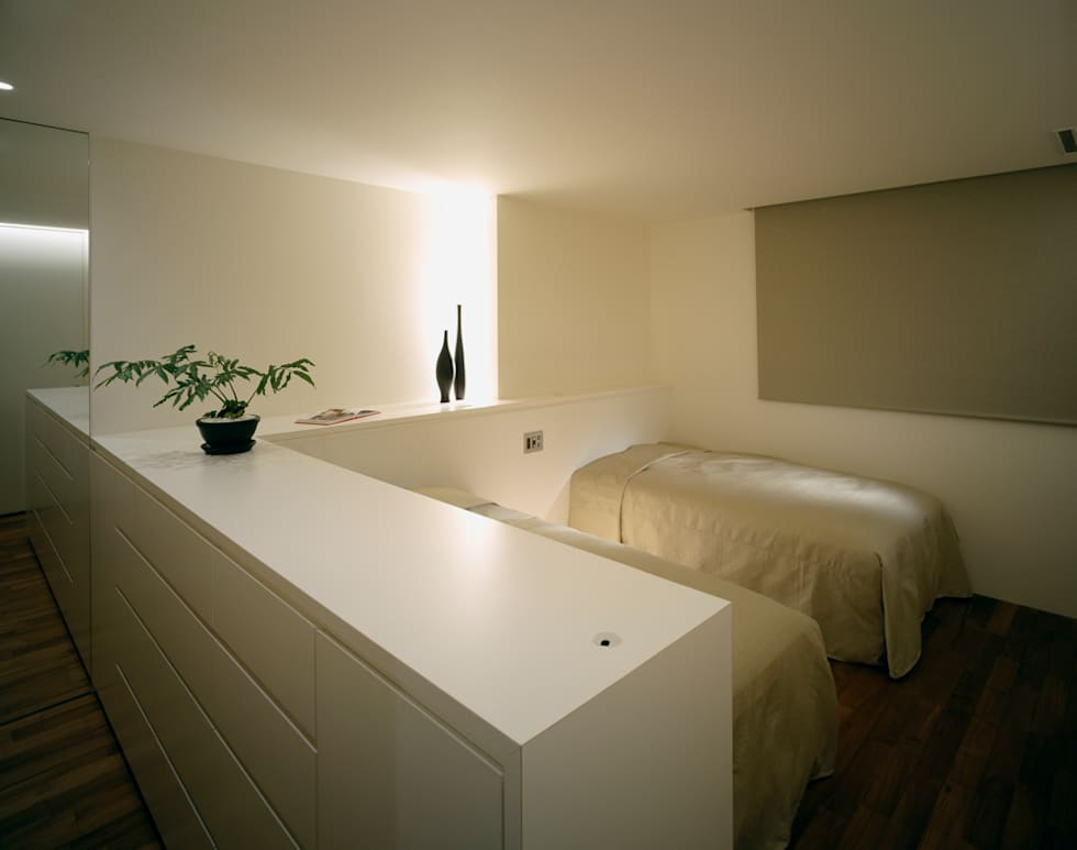 森裕建築設計事務所 / Mori Architect Office의  침실