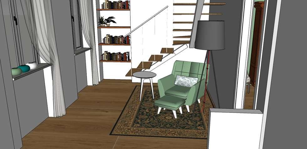 Gli ambienti della casa!: Ingresso & Corridoio in stile  di Arch&G