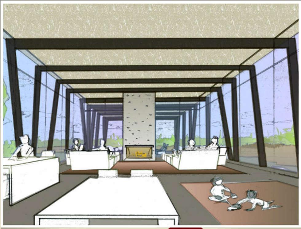 ECO-ISLA,  HOSPEDAJE: Casas de estilo moderno por AUREA Estudio de Diseño