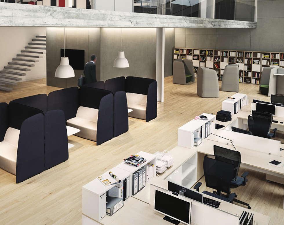 Ufficio Y : Imágenes de decoración y diseño de interiores homify