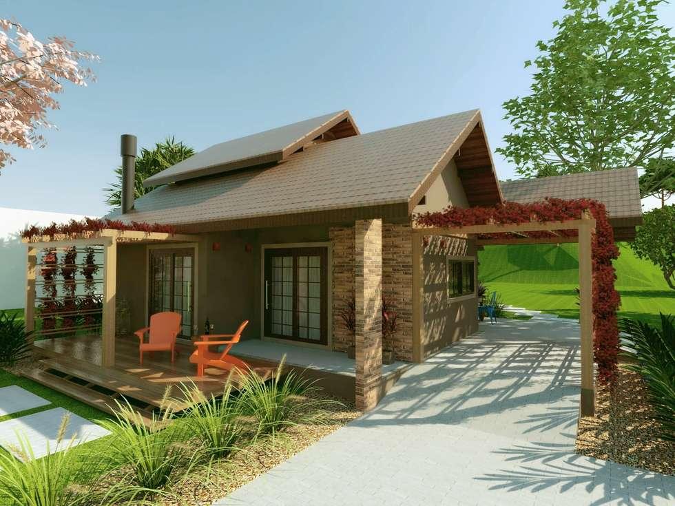 Fotos de decora o design de interiores e reformas homify - Modelos de casas rusticas ...