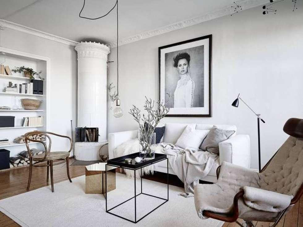 idee arredamento casa & interior design | homify - Soggiorno Total White