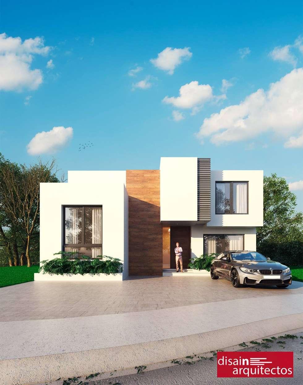 Casa Järv: Casas de estilo moderno por disain arquitectos