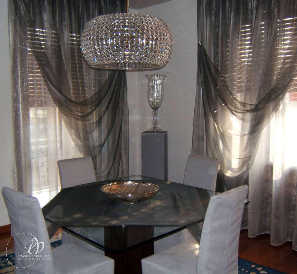 ATMOSFERE FASHION: Sala da pranzo in stile in stile Moderno di Emanuela Volpicelli Interior Designer