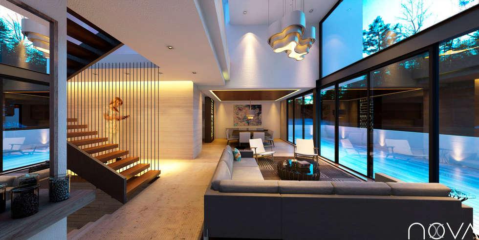 Ideas im genes y decoraci n de hogares homify for Casa minimalista 300m2