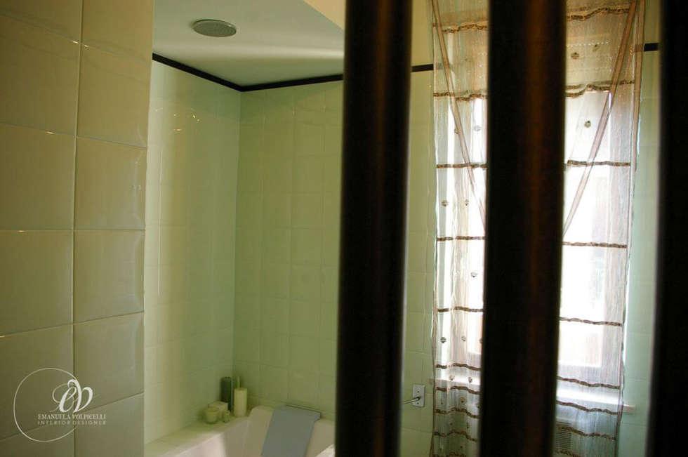 ISPIRAZIONI ZEN: Bagno in stile in stile Moderno di Emanuela Volpicelli Interior Designer