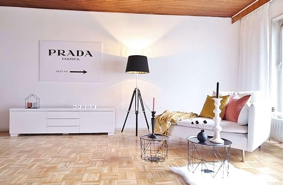 Wohnzimmer: skandinavische wohnzimmer von nicole schütz home staging ...