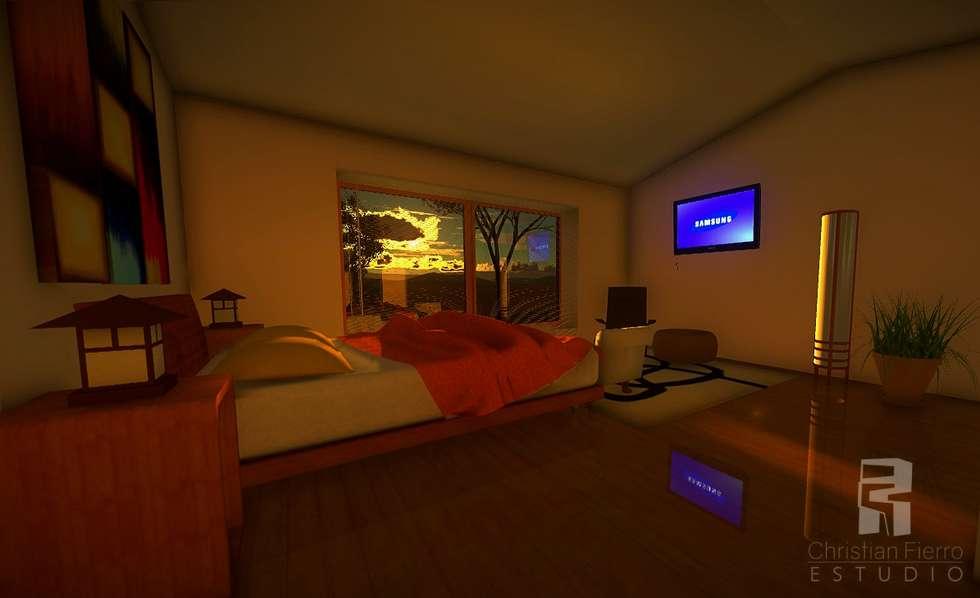 Dormitorios de estilo rural por homify