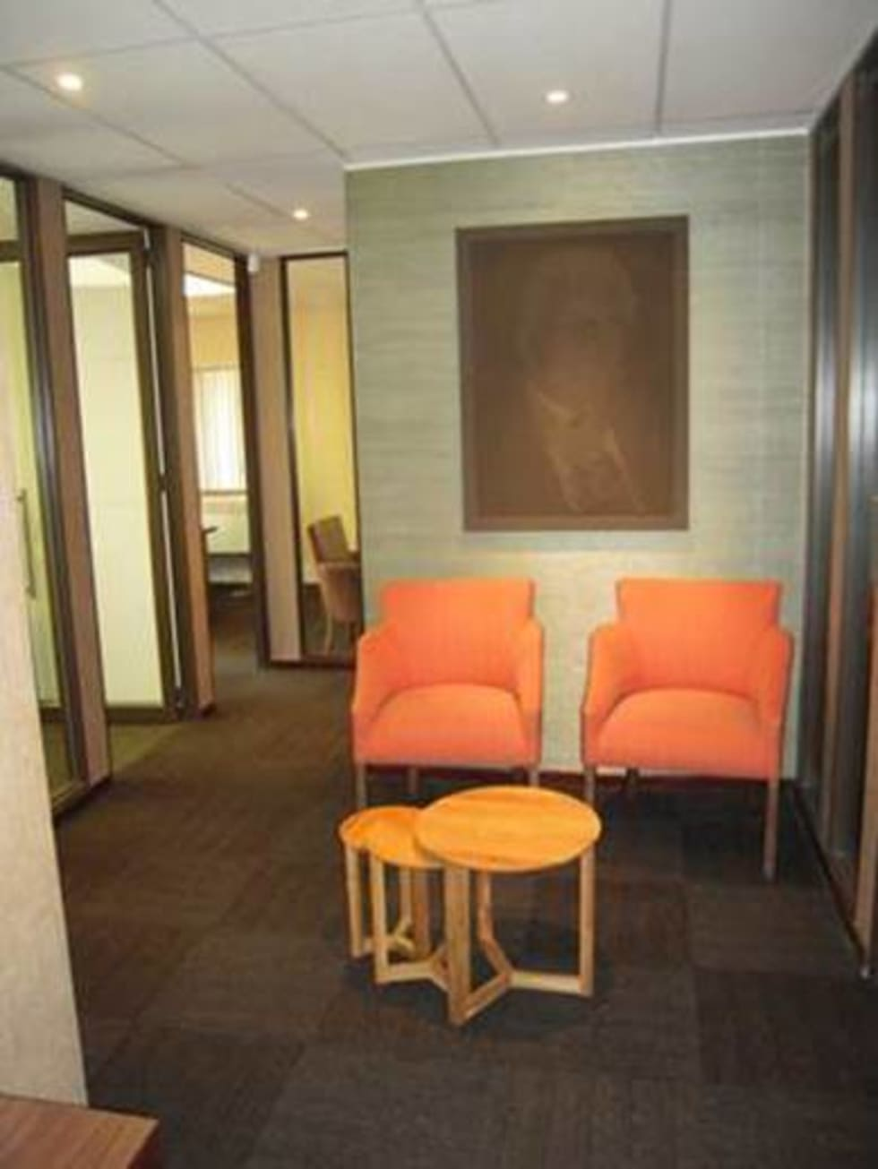 Entrance Area:  Office buildings by Sight Projects + Interiors (PTY) LTD