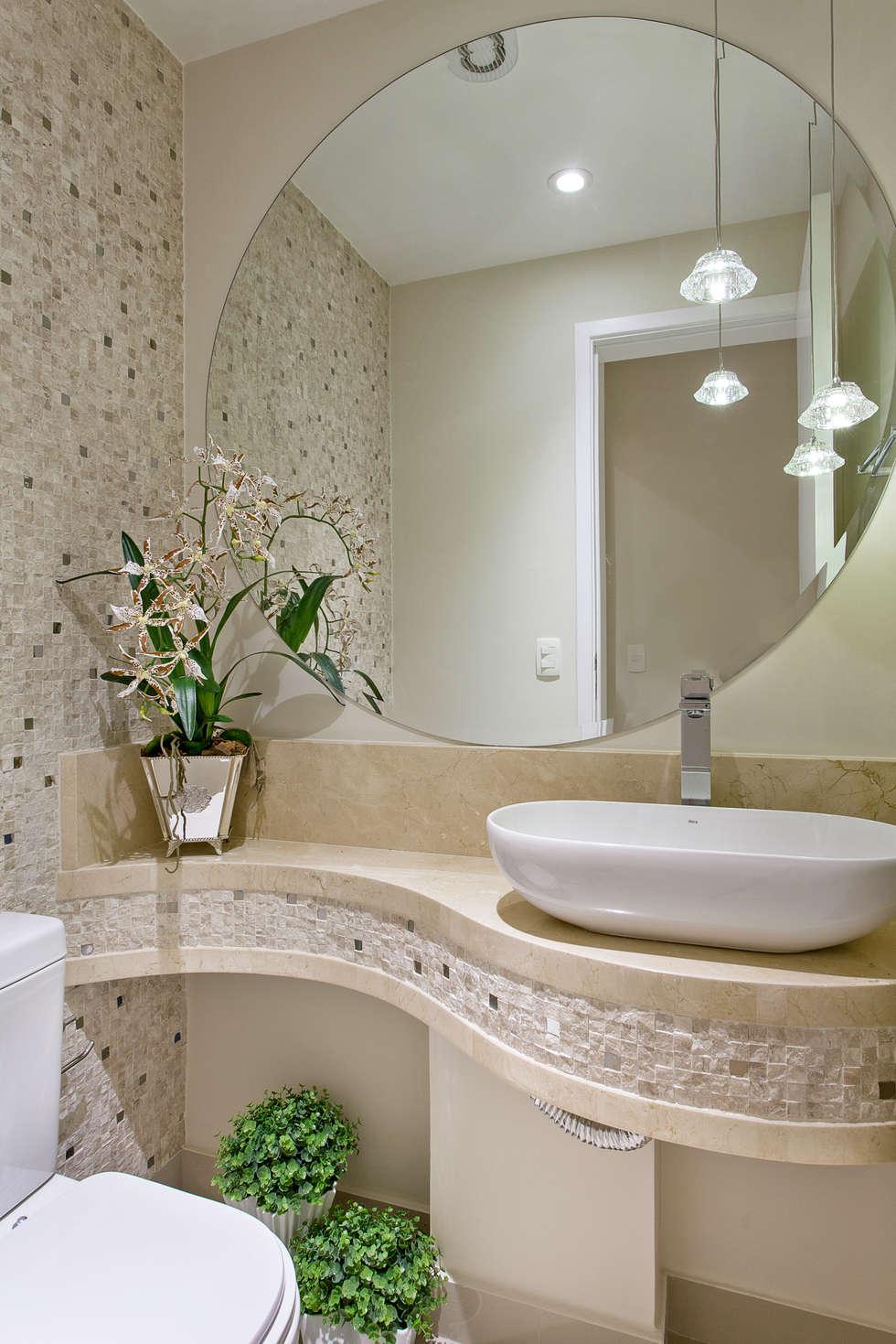 Fotos de banheiros modernos apartamento jundiaí  homify -> Armario Banheiro Jundiai