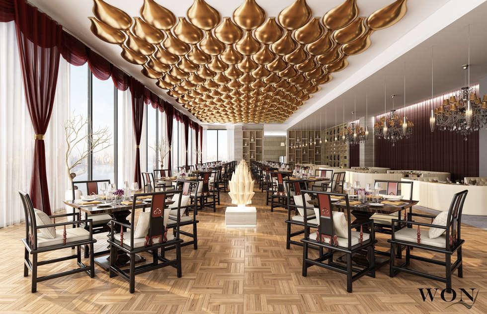 Architectural Rendering Services Wonstudios: Bares y Clubs de estilo  por Wonstudios