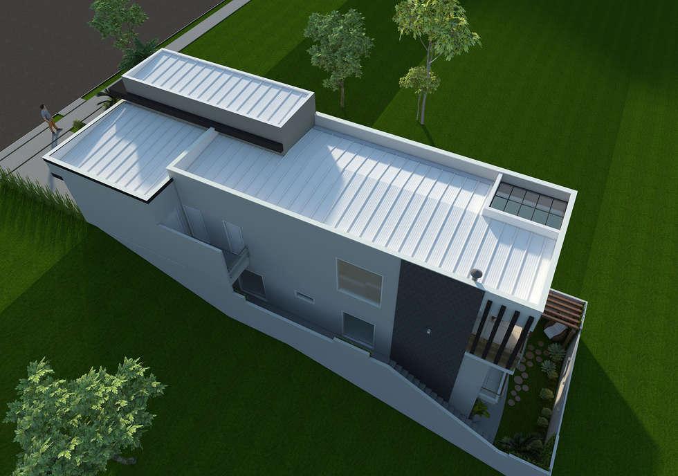 Casas em terreno com declive jca casa de campo cd ref for Casa moderna 10 x 20