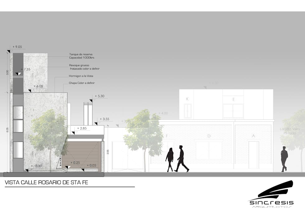 Vivienda AS2: Casas de estilo minimalista por síncresis arquitectos