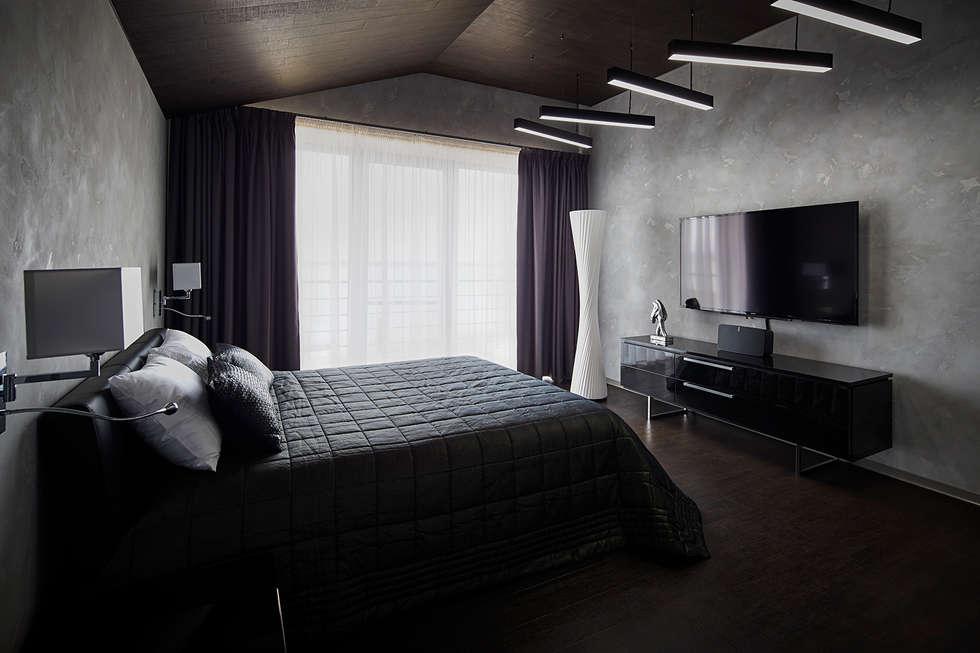 Kleine Minimalistische Slaapkamer : Minimalistische slaapkamer door snou project homify