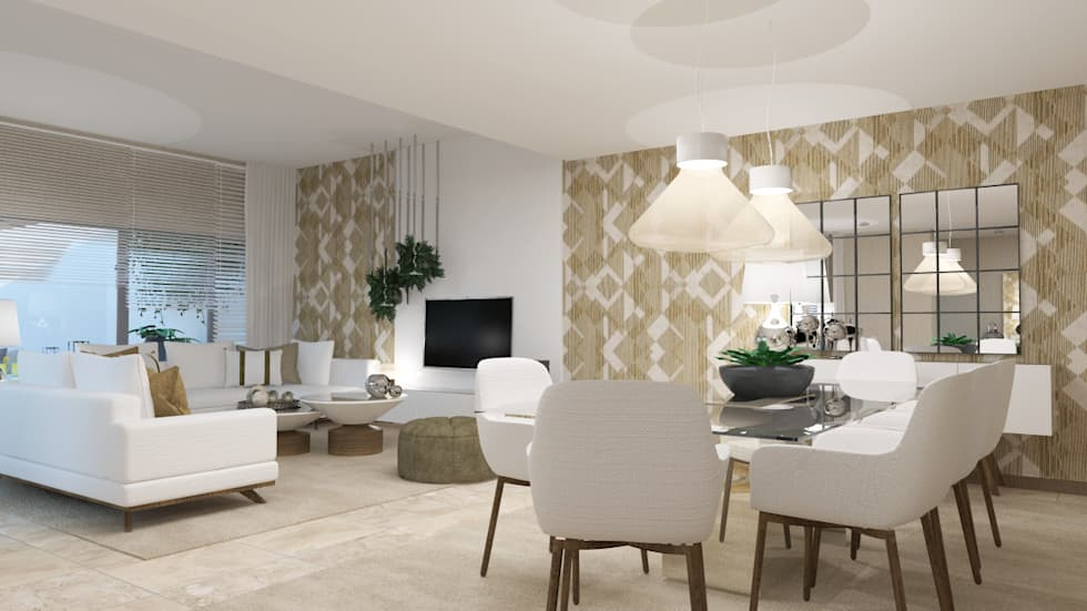 Sala De Estar No Auto Cad ~ Fotos de salas de estar modernas sala de estar  homify