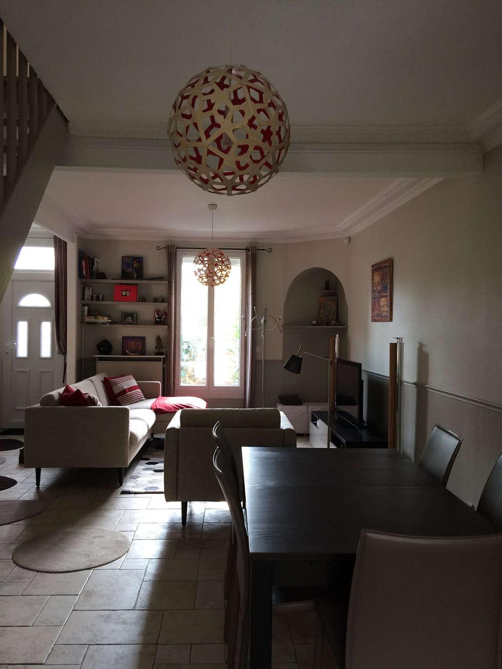 Espace Séjour: Salle à manger de style de style Classique par Nuance d'intérieur