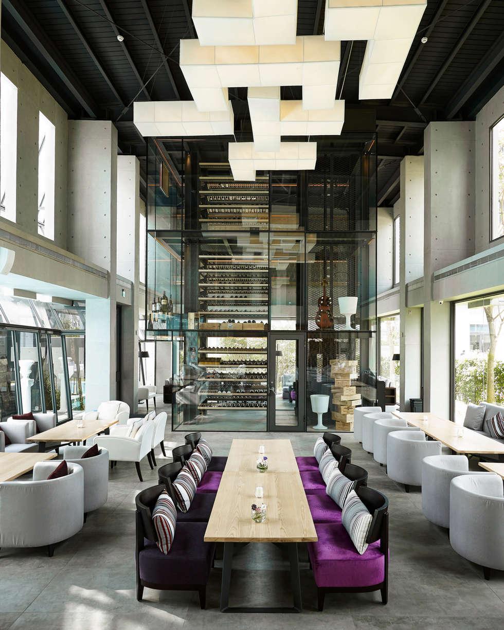 Beluga Restaurant& Bar :  餐廳 by 原形空間設計