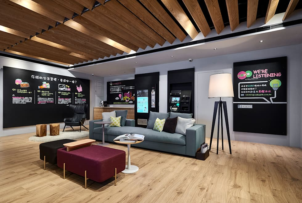 KOKO store數位銀行:  辦公室&店面 by 晨室空間設計有限公司