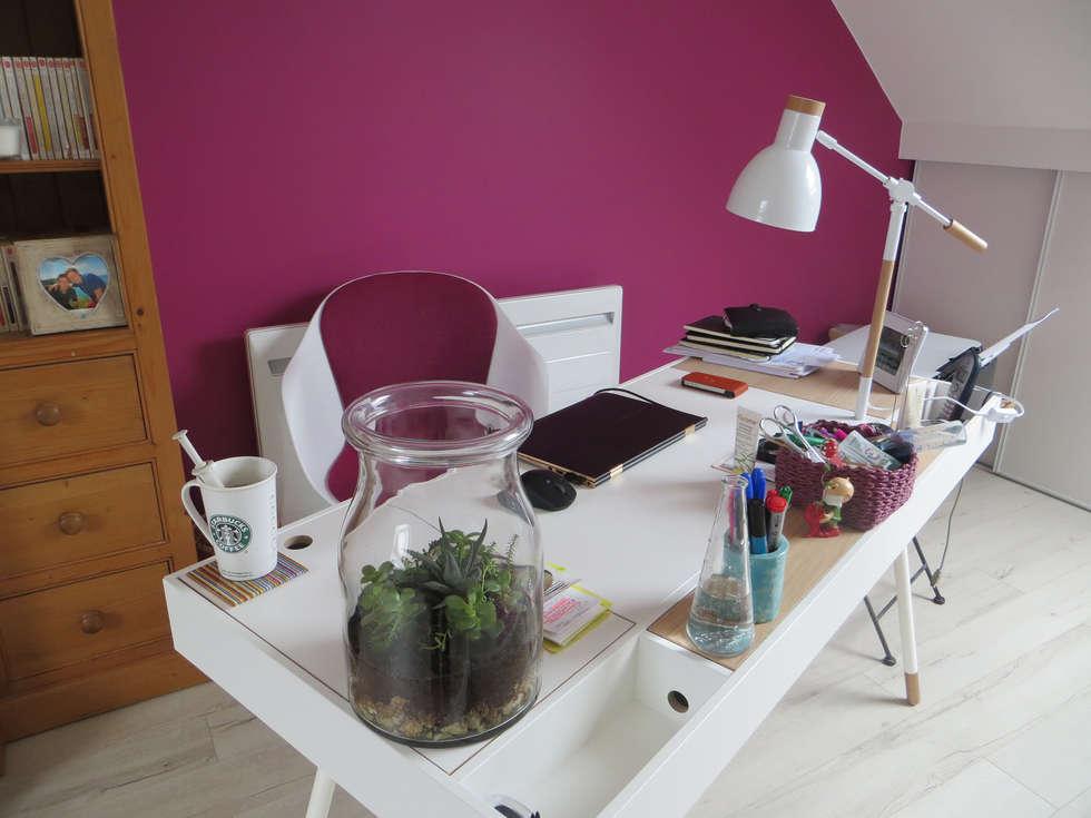 Maison à Meudon: Bureau de style de style Moderne par Nuance d'intérieur