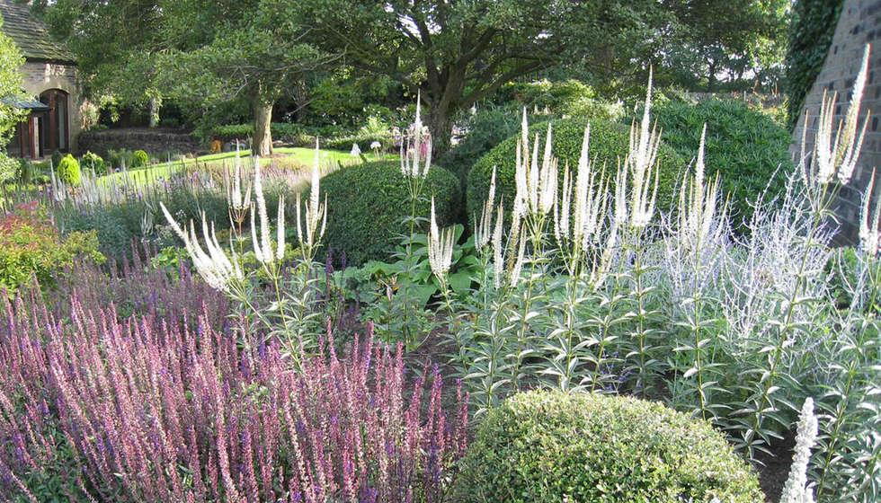 Jardins Campestres Por Caroline Benedict Smith Garden Design Cheshire