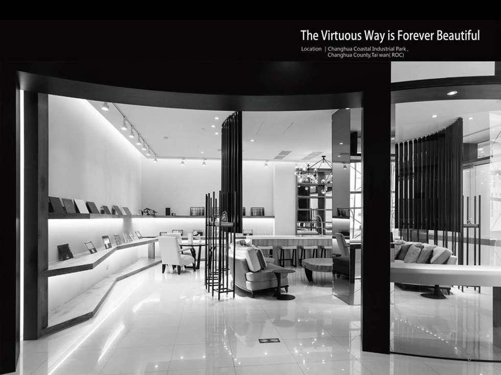 大道恆美 The Virtuous Way is Forever Beautifu l- 京悅設計:  展覽中心 by 京悅室內裝修設計工程(有)公司 真水空間建築設計居研所