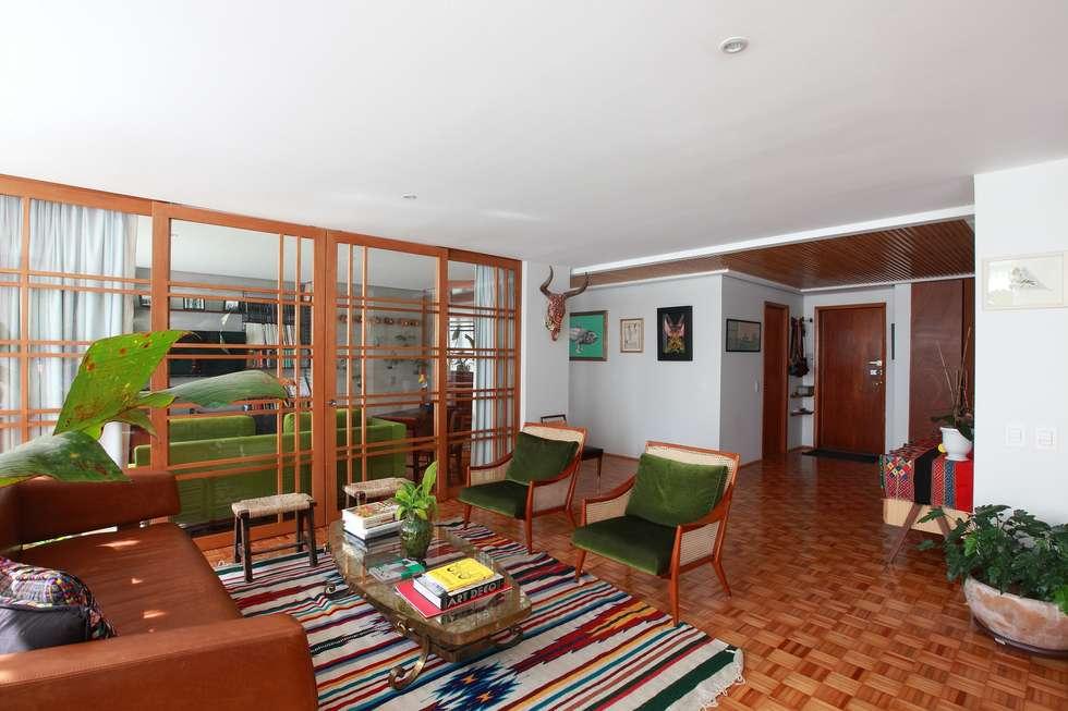 Sala De Estar Arquitectura ~ Fotos de salas de estar tropicais por all arquitectura  homify