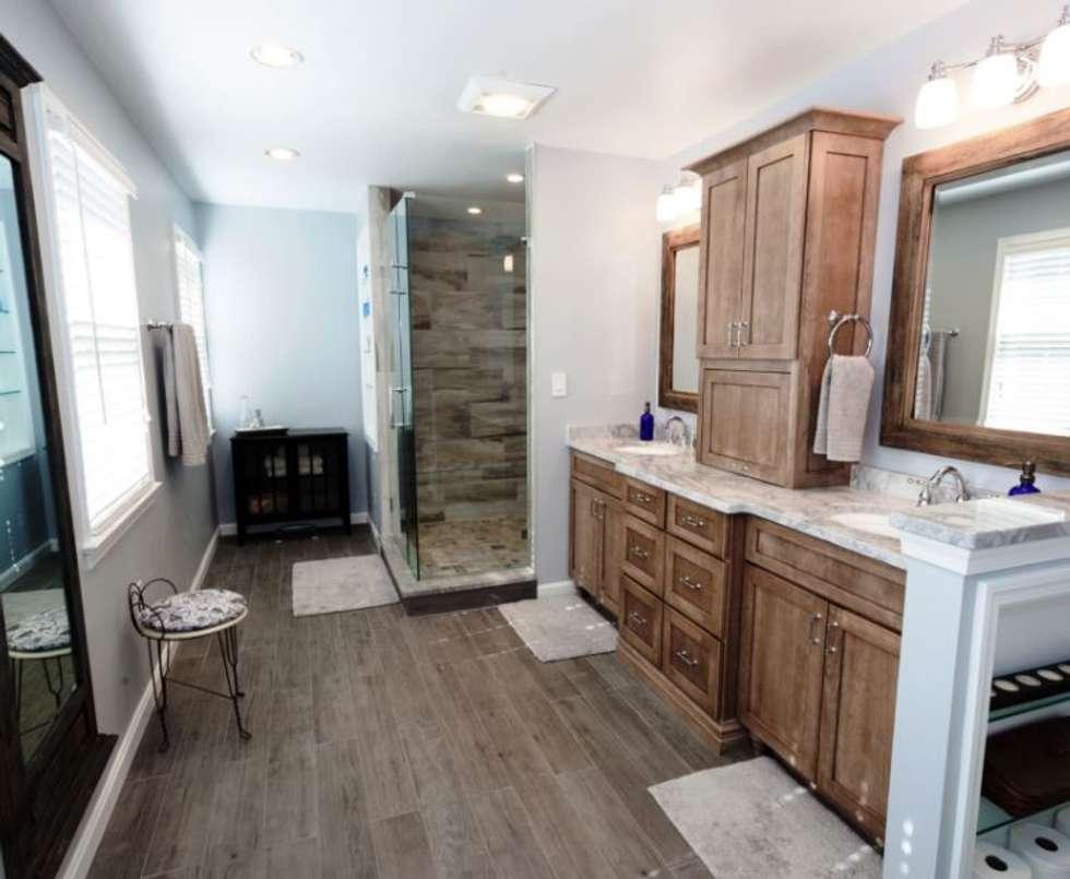 Interior design ideas redecorating remodeling photos for Redecorating bathroom ideas