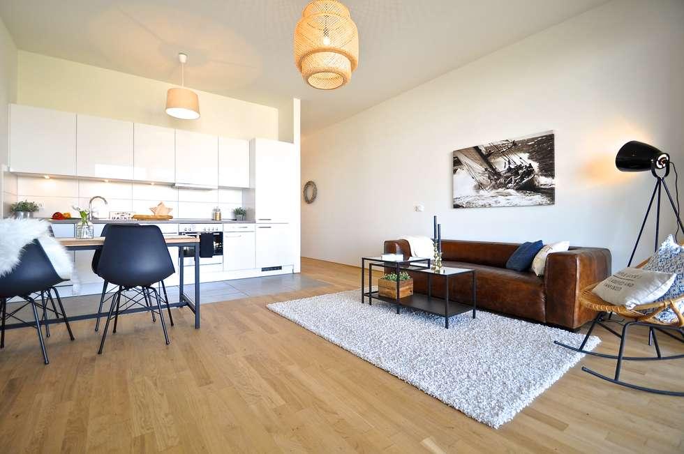 Maritim Und Männlich: Industriale Wohnzimmer Von Karin Armbrust   Home  Staging