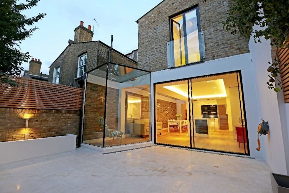 House renovation and extension in Fulham, SW6: modern Houses by APT Renovation Ltd
