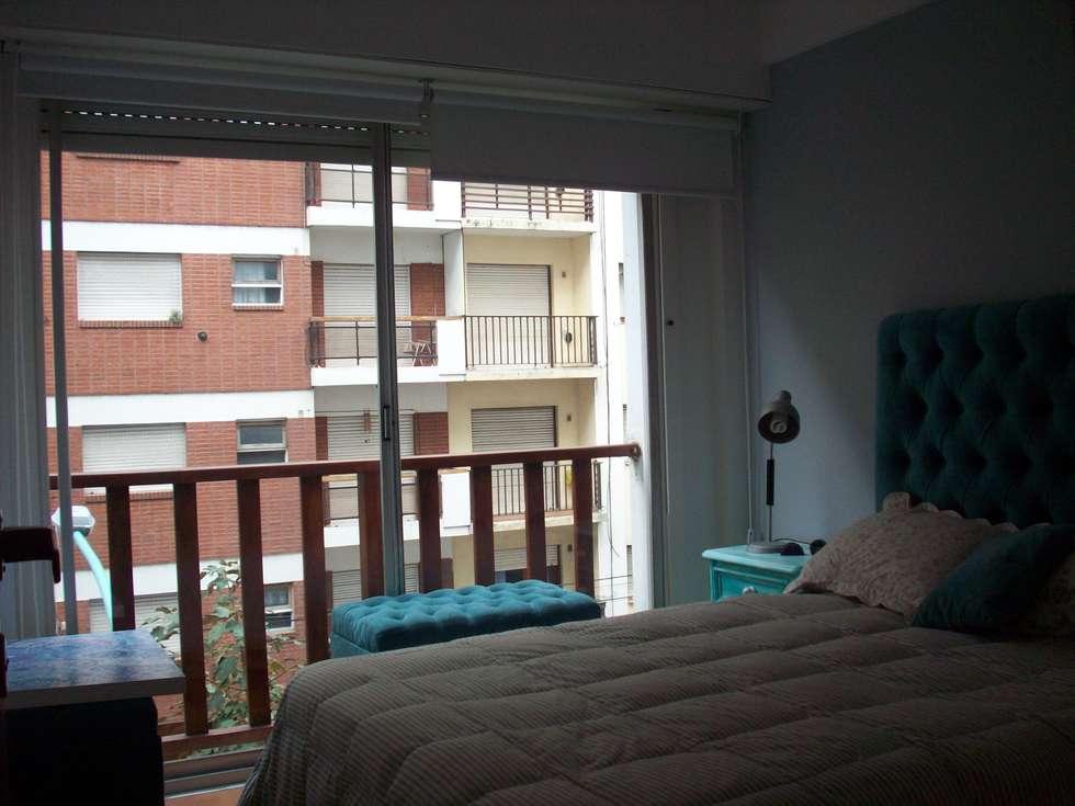 Dormitorios de estilo moderno por JIEarq
