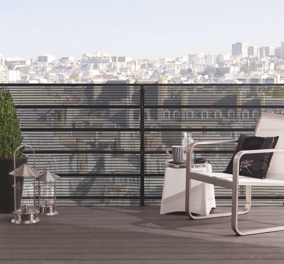Brise-vue CITYNET de la marque Nortene: Terrasse de style  par Archi'Tendances.fr