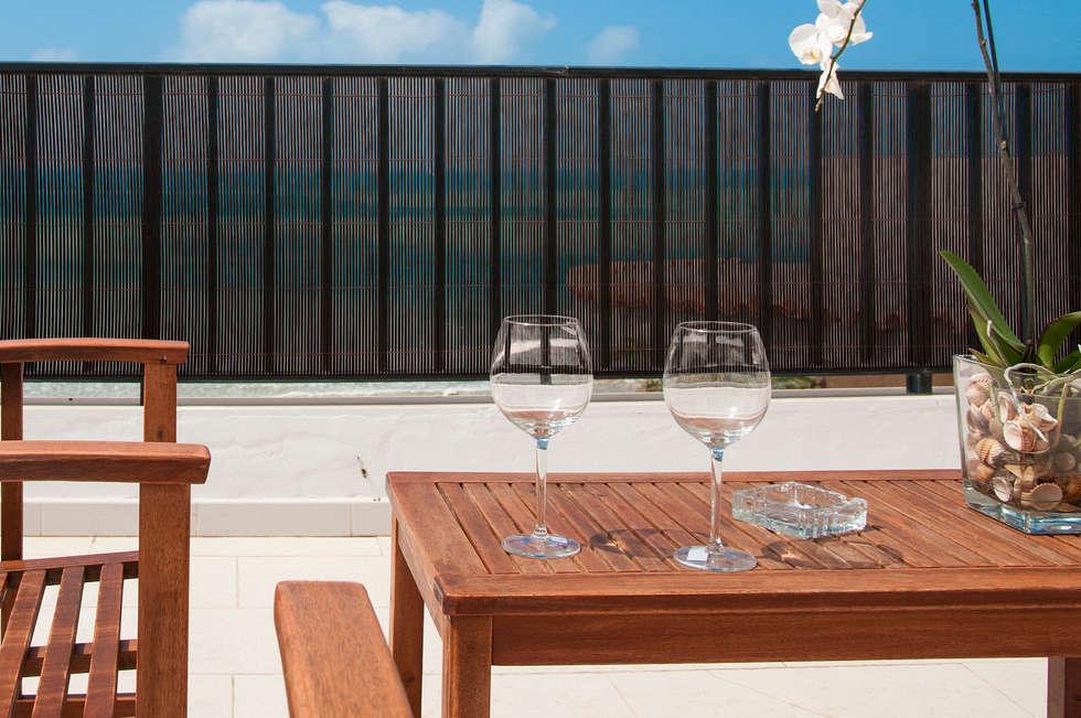 Brise-vue EXEL WILLOW de la marque Nortene: Terrasse de style  par Archi'Tendances.fr