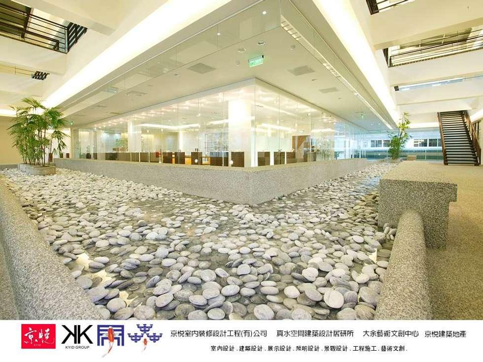 京悅設計 - 成霖集團企業總部Globe UNION Industrial Corp.第一集:  辦公室&店面 by 京悅室內裝修設計工程(有)公司|真水空間建築設計居研所