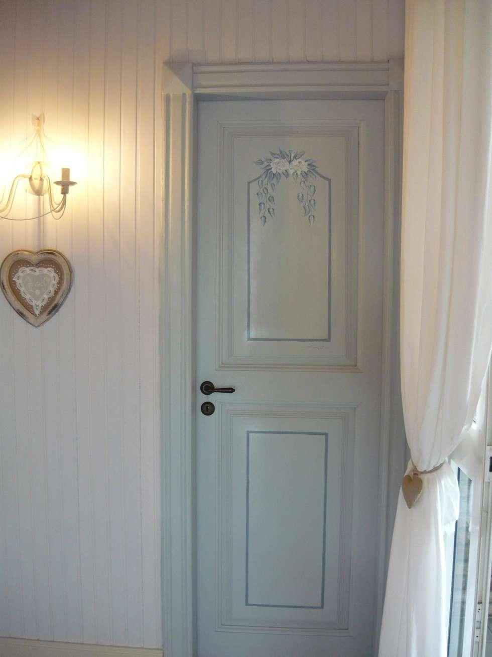 Colore porte interne e infissi idea creativa della casa - Porte stile shabby ...