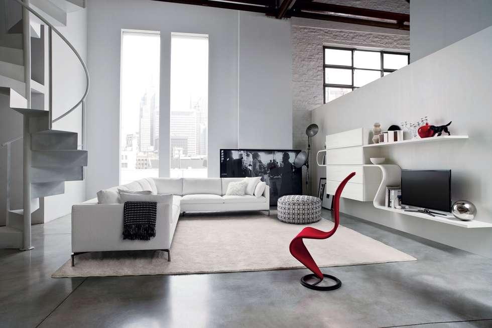 Arredare casa online: Soggiorno in stile in stile Moderno di Edilizia Software