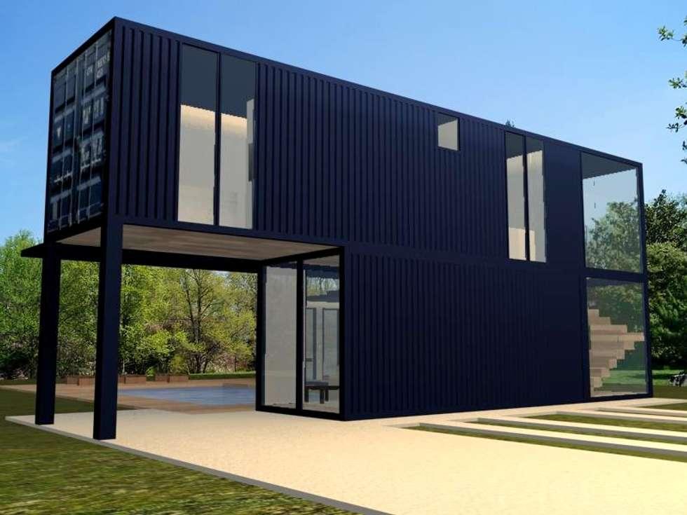 Fotos de decora o design de interiores e reformas homify - Casa container espana ...