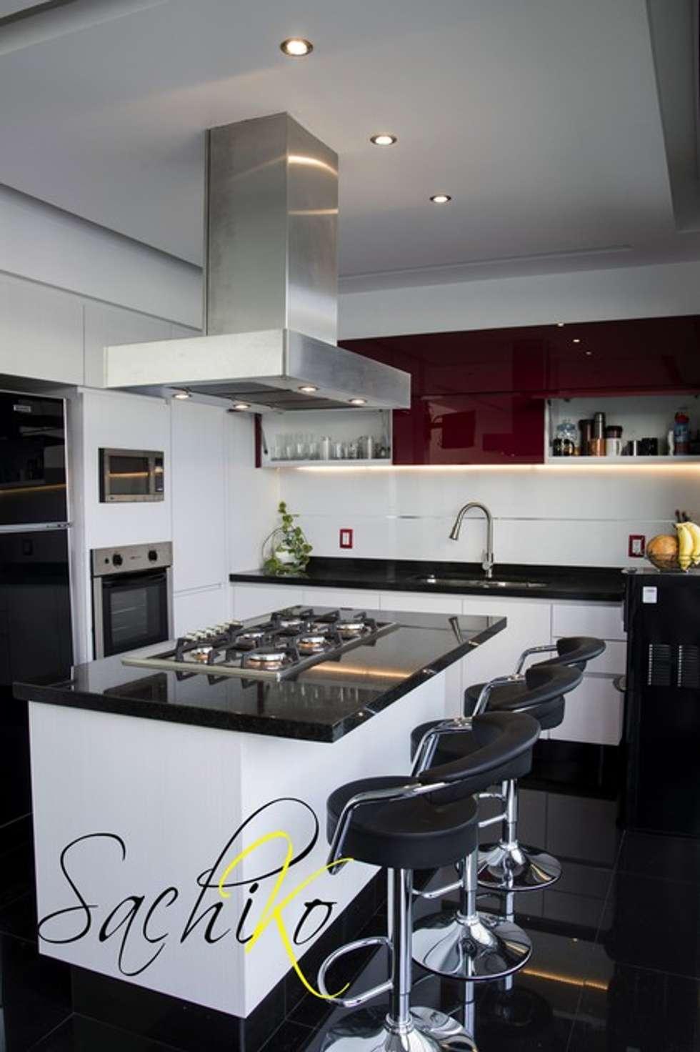 dise o de cocina integral cantares cocina de estilo por On isla de cocina con lavaplatos