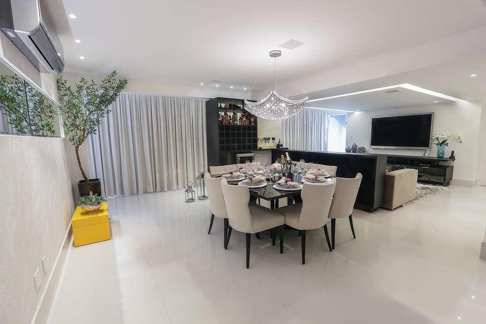 Sala De Jantar Geovanna ~ Fotos de salas de jantar modernas sala de jantar  homify