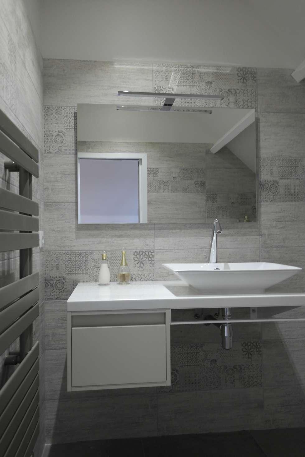 Salle d'eau 3 : Ambiance Zen: Salle de bains de style  par Harmonie&Design