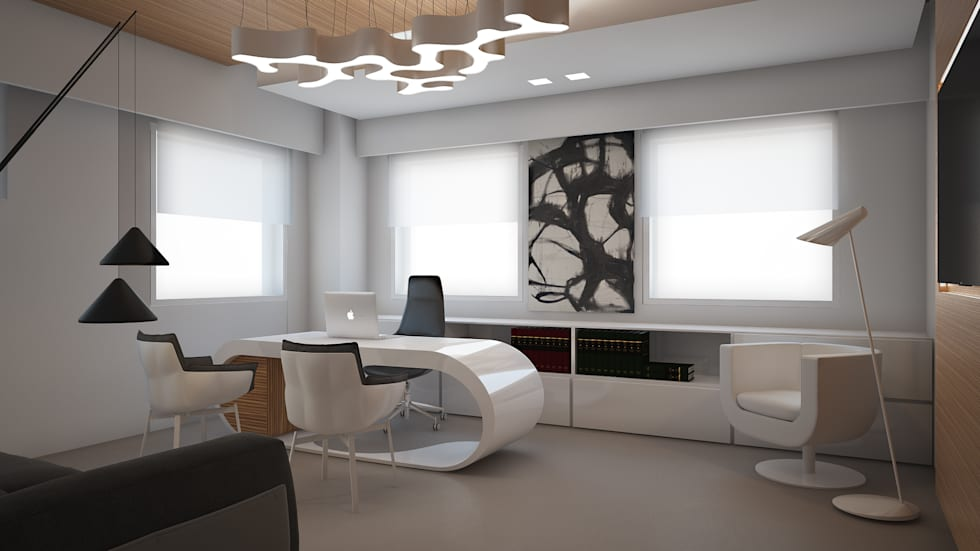 Idee arredamento casa interior design homify for Uffici moderni design