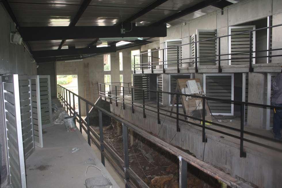 Centro de Bienestar Animal [La Perla]: Bodegas de estilo moderno por tresarquitectos
