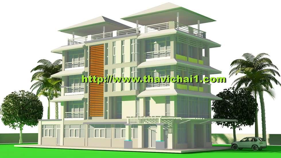 บ้านพักอาศัย 5 ชั้น:  บ้านและที่อยู่อาศัย by PROFILE INTERIOR STUDIO